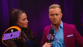 Drake Maverick remains neutral before the WWE Cruiserweight Title Match: WWE 205 Live, May 29, 2018