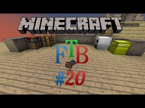 0 Minecraft FTB   Episode 20   Power Tools & Solar Panels