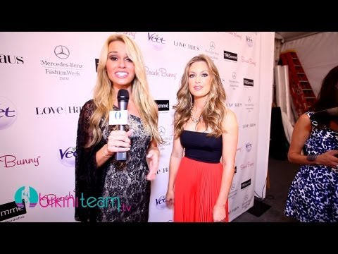 Angela Chittenden Video Interview with Tyler Suess at Beach Bunny Swimwear MBFW Swim 2014