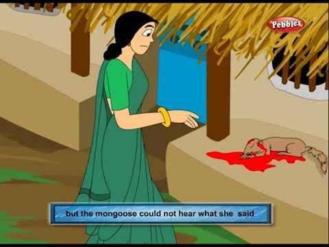 Gujarati Stories For Kids | Panchatantra 05 | Loyal Mongoose | Mongoose And Child video