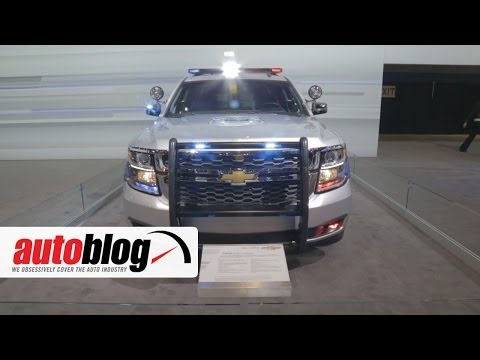 2015 Chevrolet Tahoe Police Pursuit Vehicle at the 2014 Chicago Auto Show | Autoblog