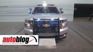 Chevrolet Tahoe Police Pursuit Vehicle - Chicago Auto Show