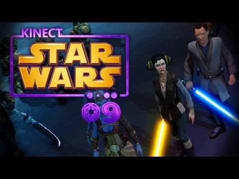 Let's Play Kinect: Star Wars [DE/Teil 9/Blind] HD - Ein marsch in die Feind Basis