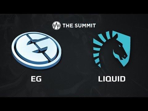 EG vs Liuqid    The Summit America Day 1