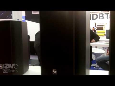 ISE 2015: RCF Details Compact C Series Loudspeaker