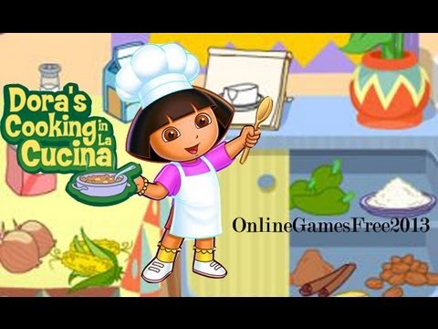 dora cooking games free online to play now