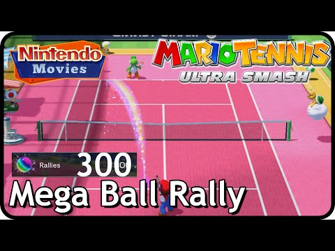Mario Tennis Ultra Smash - Mega Ball Rally 300