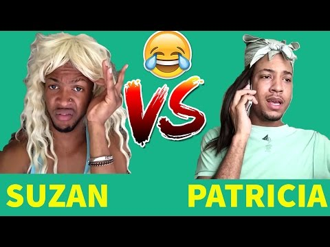 SUZAN (PRINCEMARNIE) VS PATRICIA (QUITEPERRY) | Viners ShowDown | Try Not To Laugh OR Grin