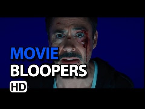 Iron Man 3 (2013) Bloopers Outtakes Gag Reel