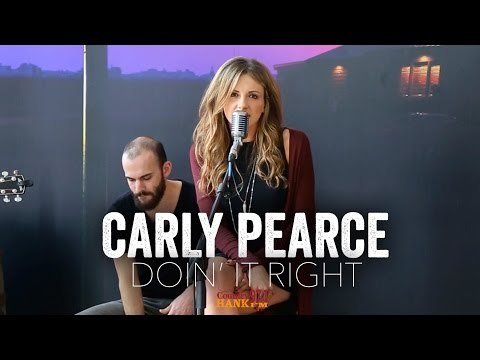 Doin it Right  Carly Pearce Acoustic