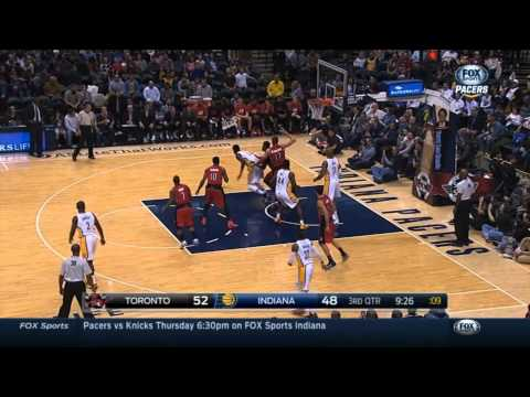 Indiana Pacers vs Toronto Raptors January 27, 2015 | Highlights | NBA Season 14-15