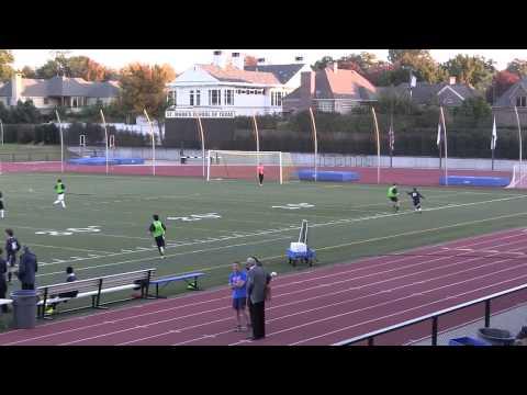 2013-11-15 -- JV soccer -- St. Mark's vs Prestonwood Christian Academy