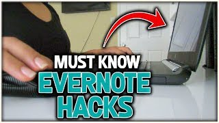 Everrnote Tips: 5 Hacks To Organize Your Evernote Notebooks And Notes