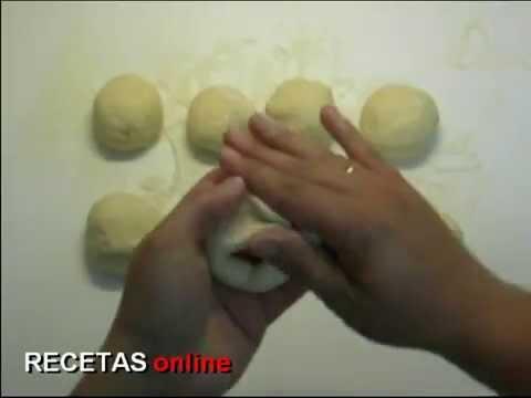Bollos preñaos - Receta de cocina RECETASonline.net