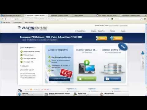 Obtener cuenta premium de rapidshare gratis