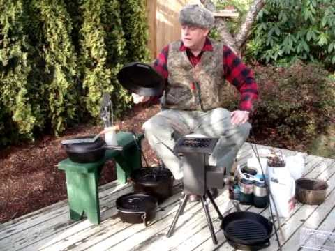 DEADWOOD STOVE Utensils and Fuel Management.MPG