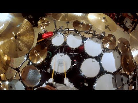 GoPro: Dave Matthews Band s Carter Beauford Drum Solo