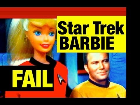 Star Trek Barbie and Ken FAIL Toy or Win Toy by Mike Mozart of TheToyChannel