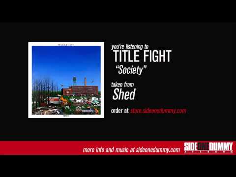 Title Fight - Society