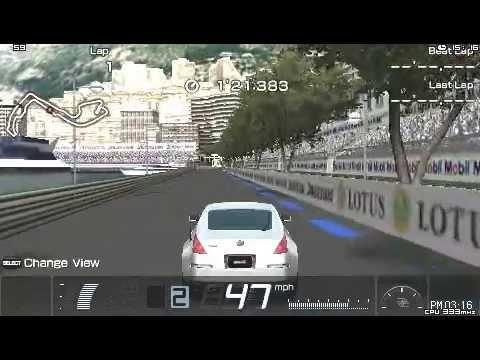 Gran Turismo PSP gameplay