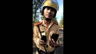 CSGT Chư Păh, Gia Lai, bắt lỗi ko phù hiệu, hộp đen, xin biên bản ko cho, gọi giang hồ cuối clip