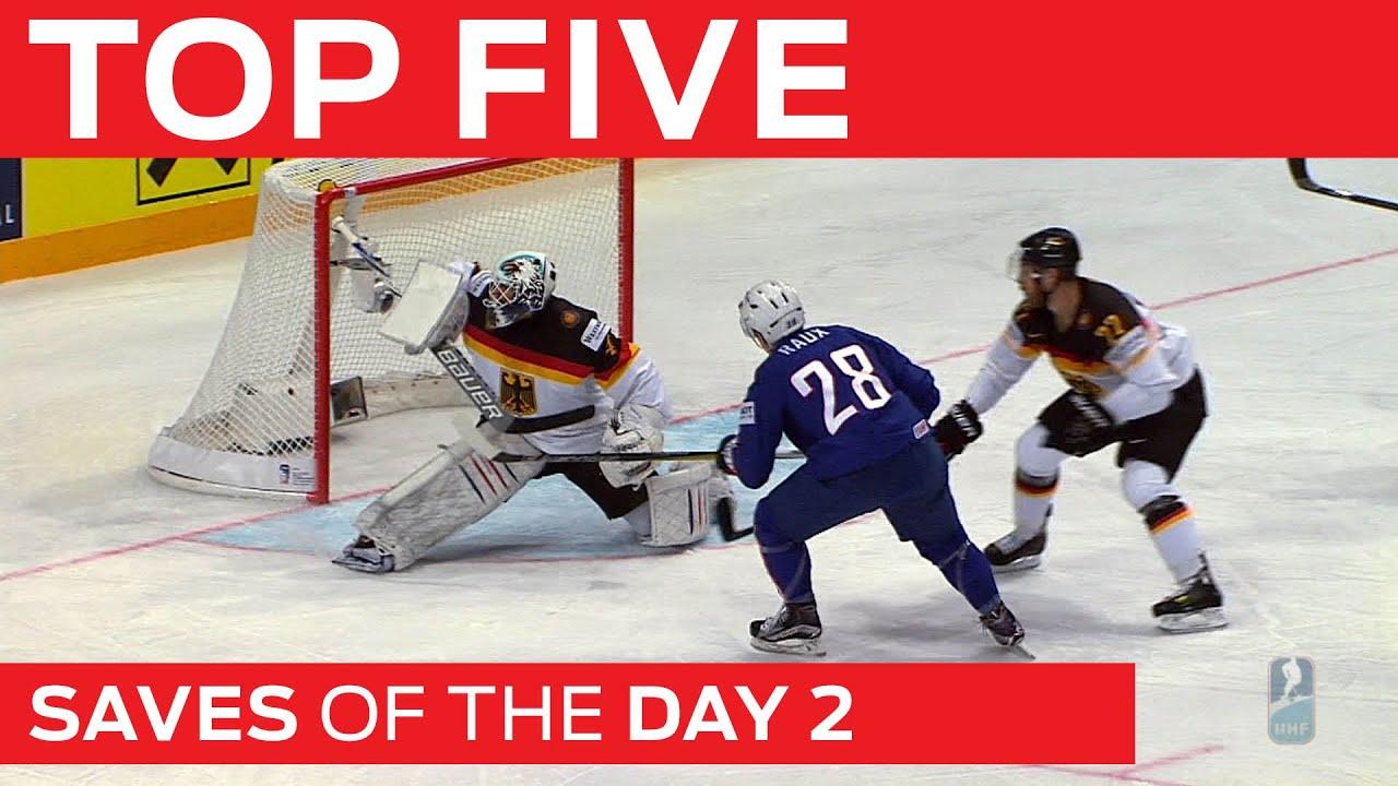 Top 5 Saves | Day 2 | #IIHFWorlds 2015