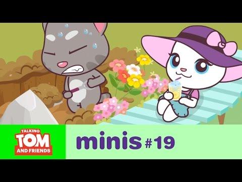Talking Tom and Friends Minis - Underground Adventure (Episode 19)