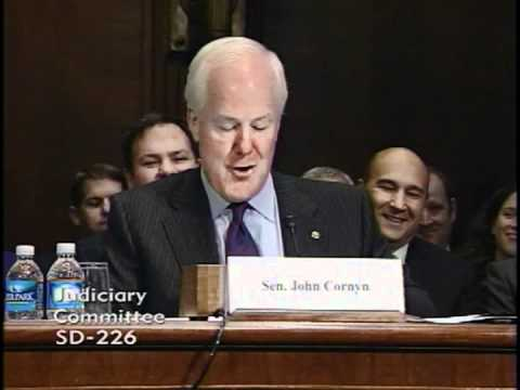Hearing: Sen. Cornyn Introduces Judge Guaderrama - 11-2-11