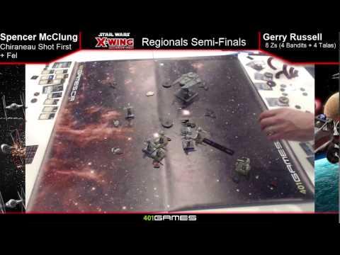 X-Wing Regionals Part 2: Quarter Finals