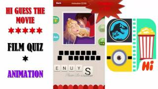 Hi Guess the Movie: Film Quiz - Animation Pack - All Answers - Walkthrough