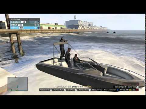GTA V Mission- Dry Docking