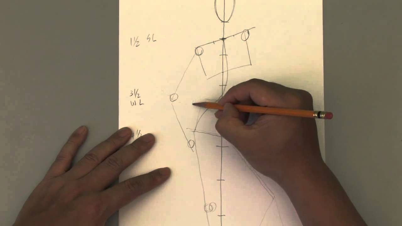 Relaxed Hand Drawing How to Draw The Female Relaxed