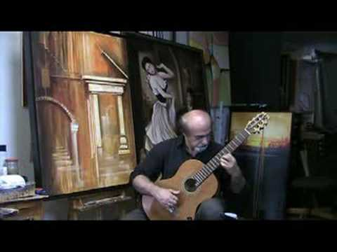 www.laguitarlesson.com (Tango) Maria Francisco Tarrega arr.&Played By: Boghrat