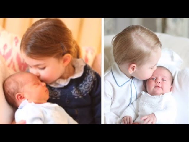 UK royal family releases first official pics of Prince Louis