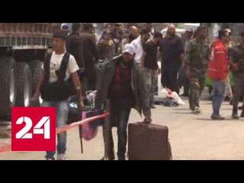 Боевики уходят из Хомса. Эксклюзив Евгения Поддубного