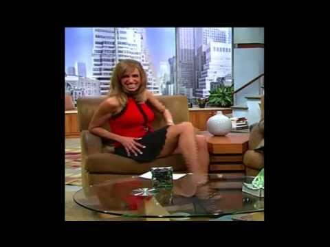 Lili Estefan - More Hot Sexy Leg Lifts in High Heels!!!