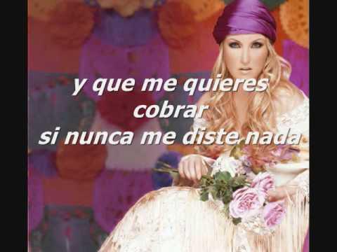 Las Cuentas Claras - Alicia Villareal (lyrics / letra)