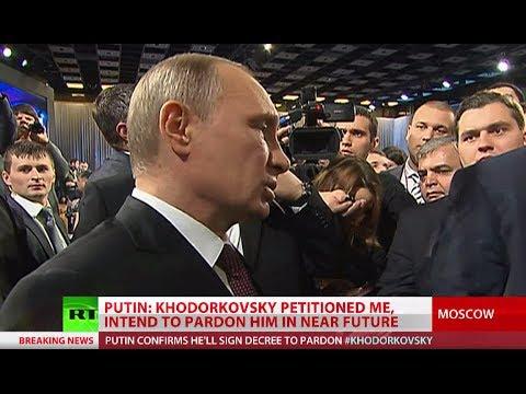 Putin to pardon jailed oil tycoon Khodorkovsky