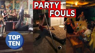 Top 25 Party Fouls of 2018