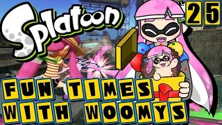 Fun Times With Woomys! Callie's Birthday, Splatoon Minigames, and More! | Splatoon (Episode 25)