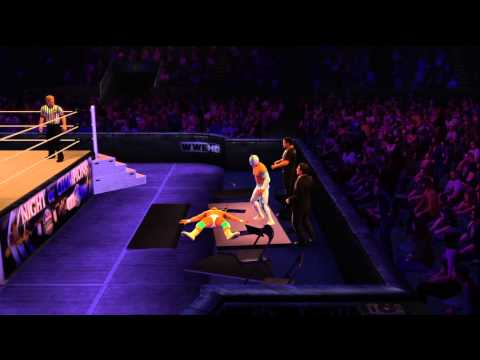 WWE 2K14 Alberto Del Rio Full Gameplay Review With Signature Finisher Move