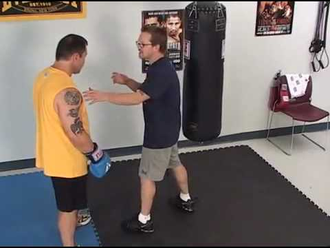 Manny Pacquiao former coach shows how to hit and work Heavybag Image 1