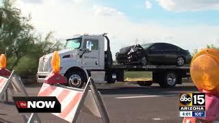 Police identify Phoenix officer injured in serious crash
