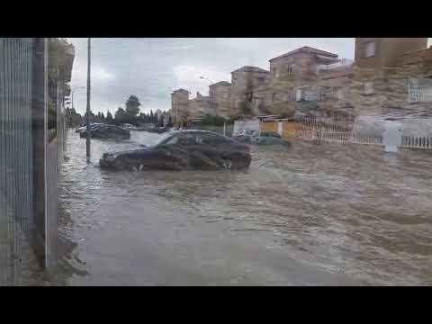 Lluvias en Torrevieja (15/09/2018)