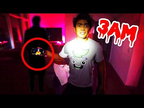DO NOT USE THERMAL CAMERAS AT 3AM! (Scary)