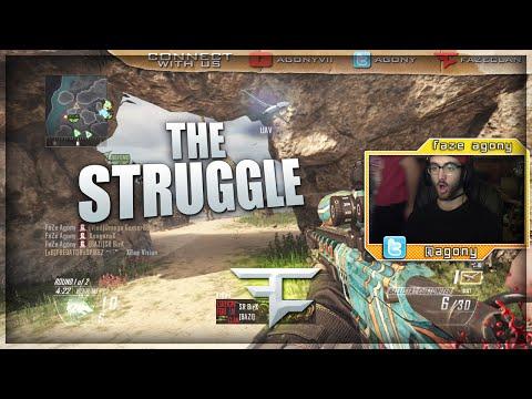FaZe Agony: THE STRUGGLE! (BO2/MW3 Clips & Funny Moments)