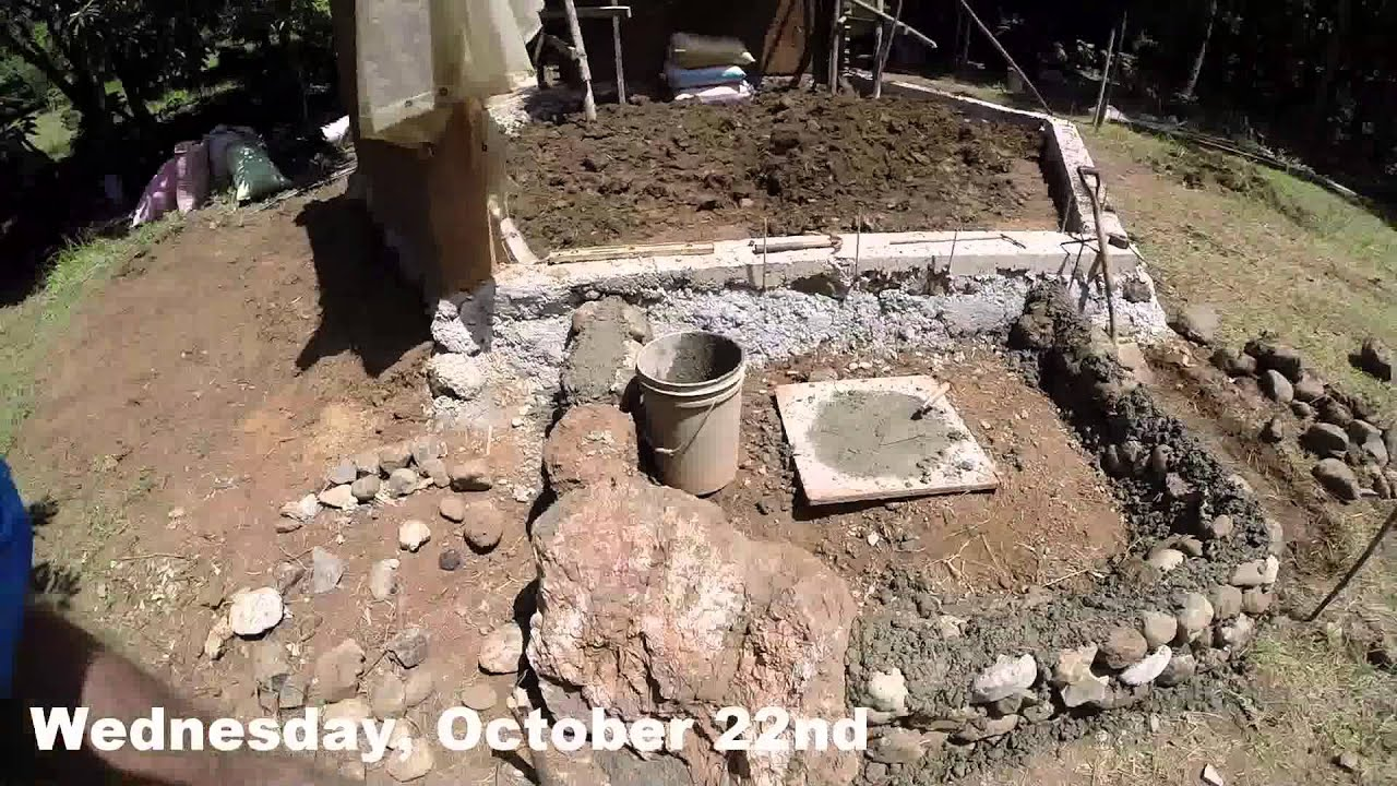 Stabilized Ram Earth Home : Stabilized rammed earth house part youtube