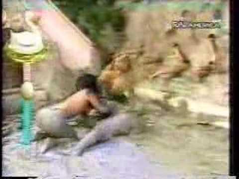 Il grande gioco dell'oca (lotta nel fango)