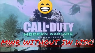 Play Modern Warfare Remastered without IW disc (new method)