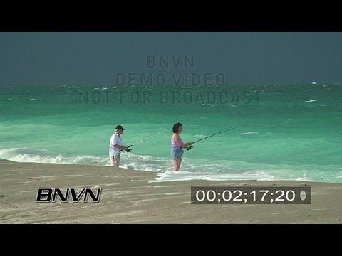 7/29/2007 Turtle Beach - Beach with Emerald Green Water Video